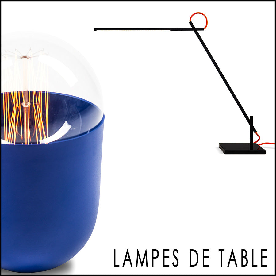 Collection Lampes de table by Koska-Elomax-Structures-Shibui-en vente sur PARIDEO design durable