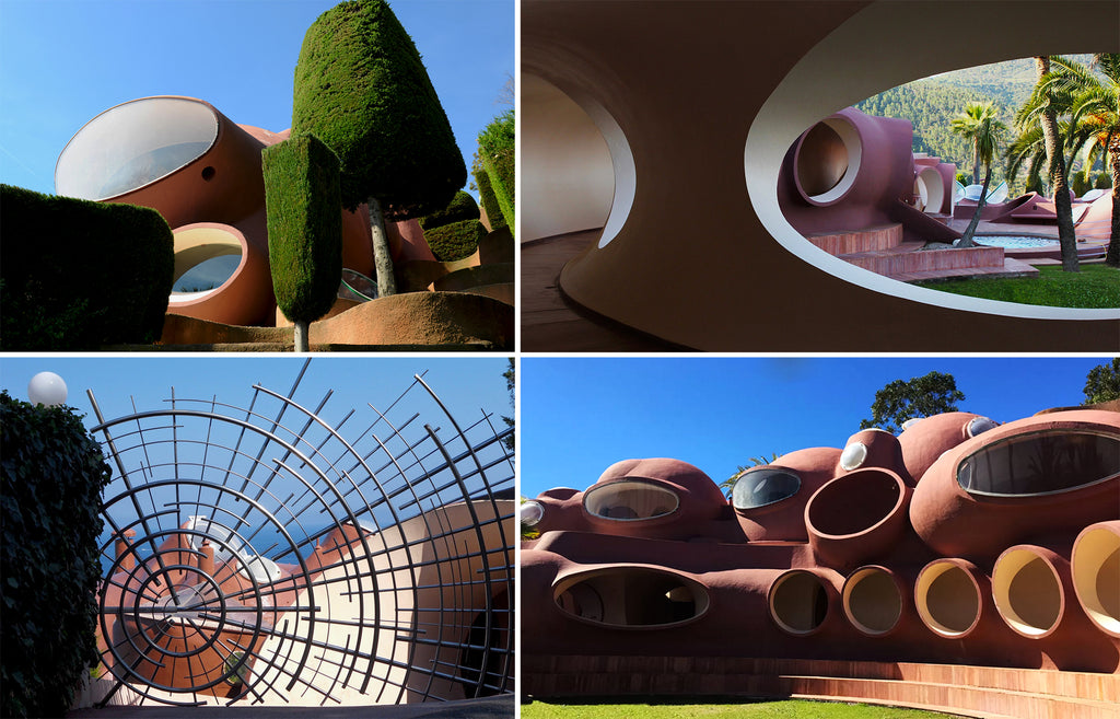 Palais Bulles by Antti Lovag (FR)-details