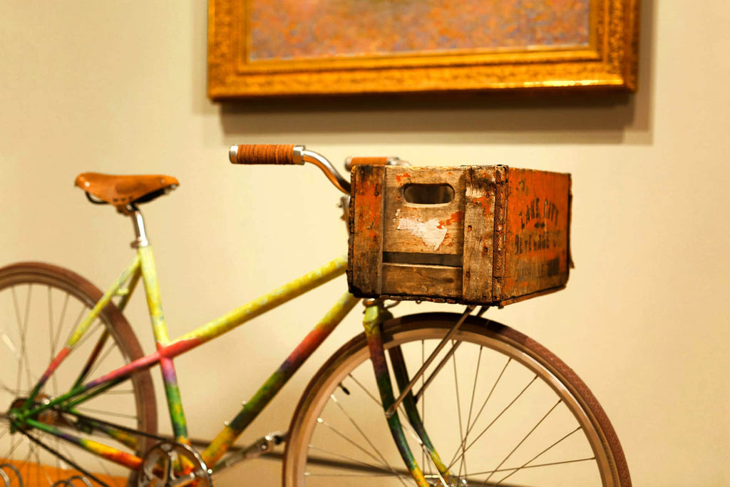 Bikes and Art by Mia-Minneapolis-Claude Monet-PARIDEO design durable