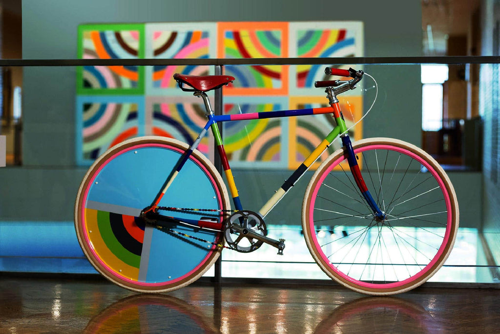 Bikes and Art by Mia-Minneapolis-Sulayman Variation-PARIDEO design durable