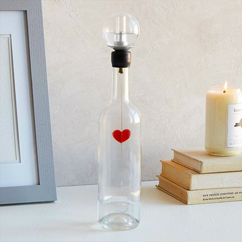 Bouteille beating heart bottle by Philippe Bouveret-PARIDEO design contemporain durable