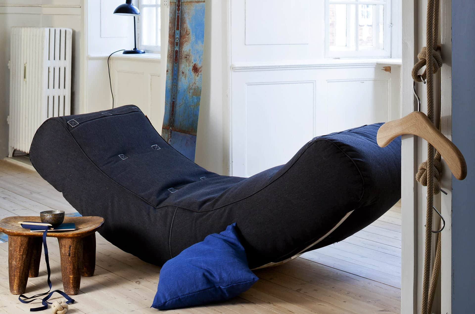 "Chaise longue ""courbée"" Half Moon by Trimm-PARIDEO design durable"