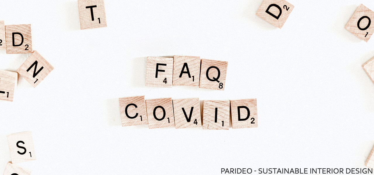FAQ covid-19-PARIDEO design contemporain durable