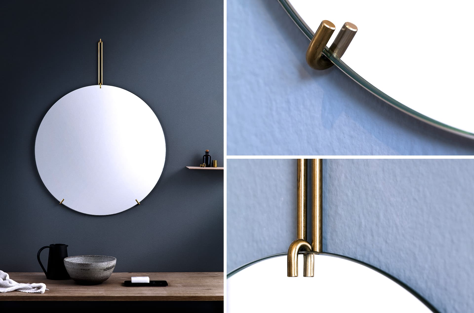 Miroir mural Wall Mirror by Moebe-PARIDEO-design-durable