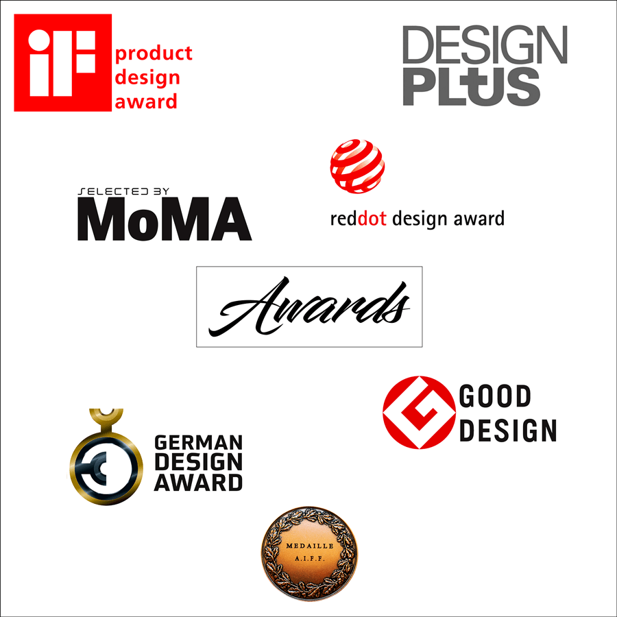 Récompenses-awards de nos designers-PARIDEO design durable