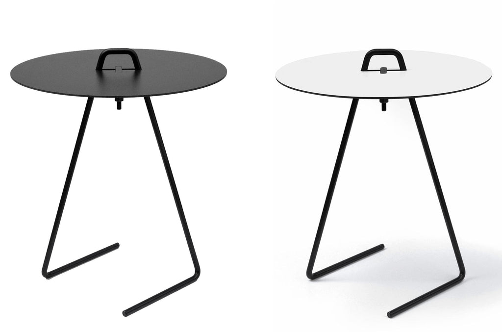 Table d'appoint Side Table by Moebe-noir ou blanc-PARIDEO design durable