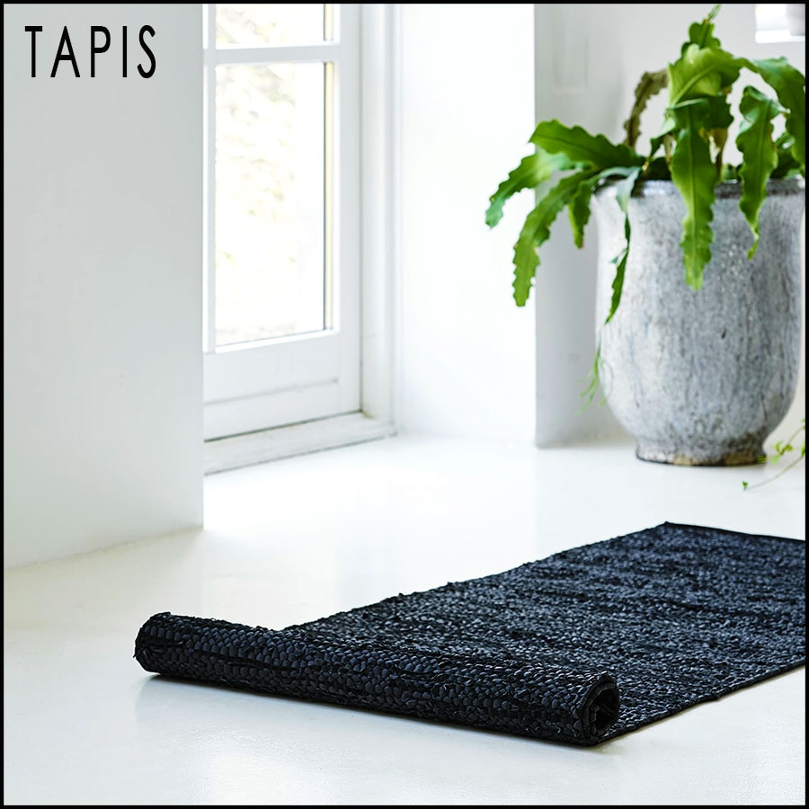 Tapis modernes 100% recyclés by Rugsolid-sur PARIDEO Design Contemporain durable