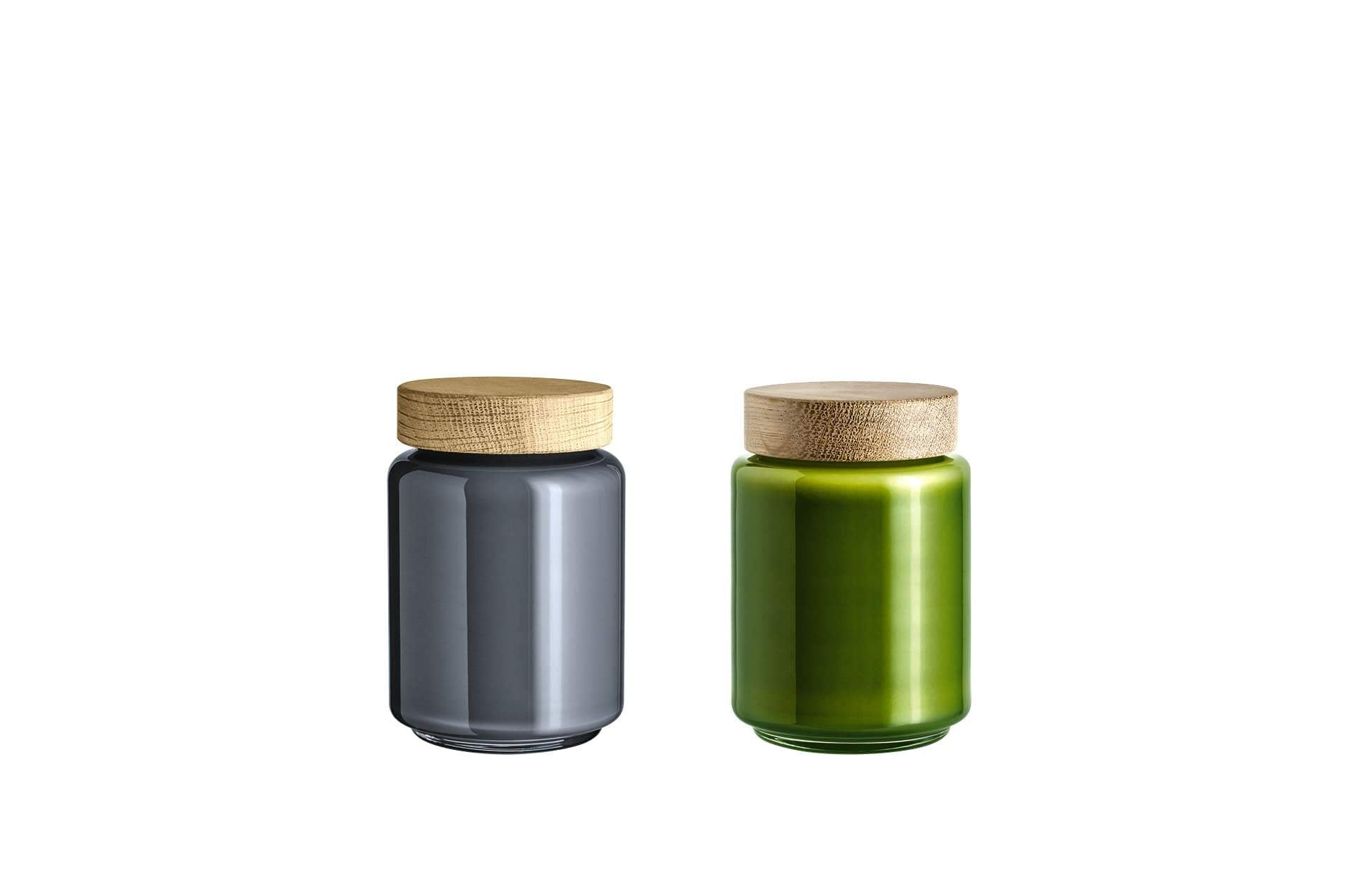Bocal verre soufflé 0.7L PALET JAR by Holmegaard-PARIDEO design durable