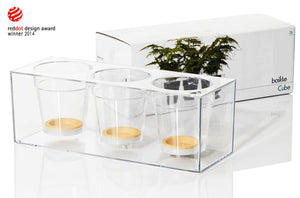 Cube Small Triple by Boskke-packaging-PARIDEO design contemporain durable