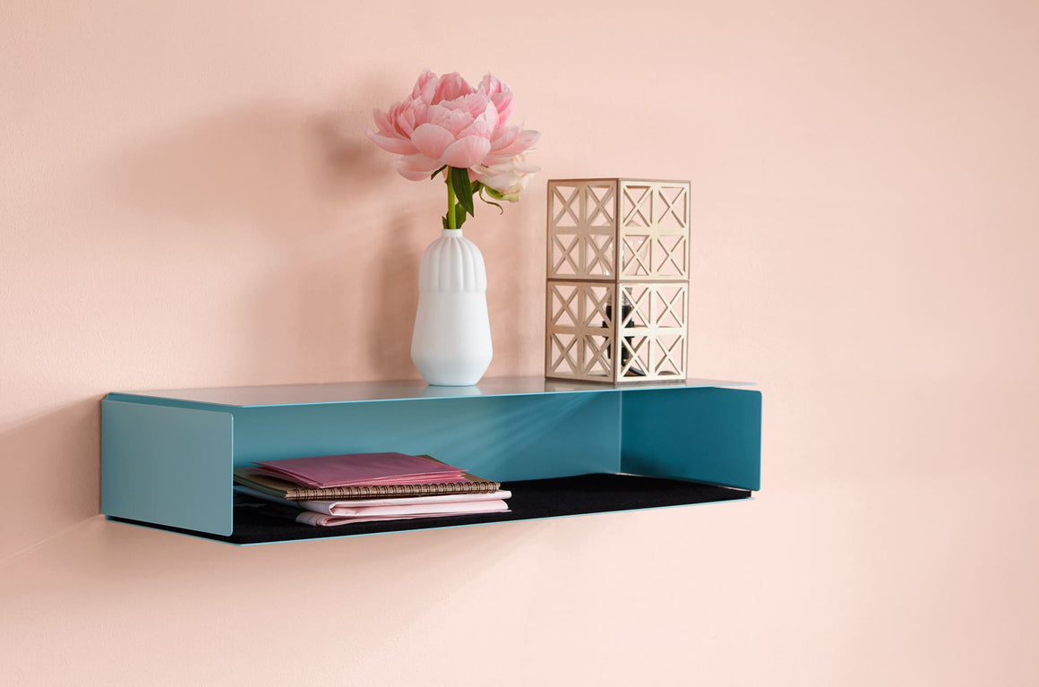Etagère murale Side-Box turquoise by Slawinski-PARIDEO design durable