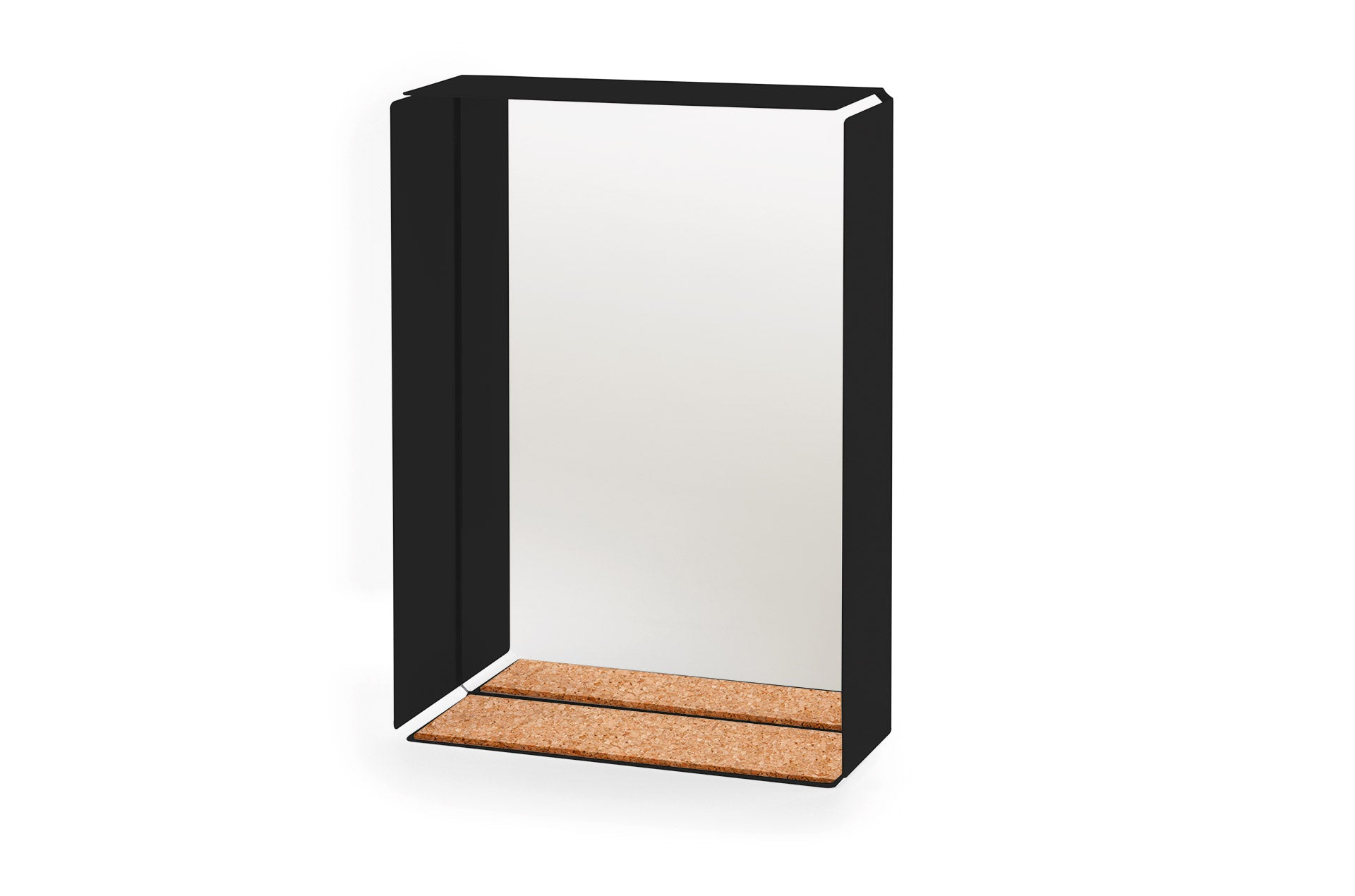 Etagère murale Mirror Box Noir-liège-PARIDEO design durable