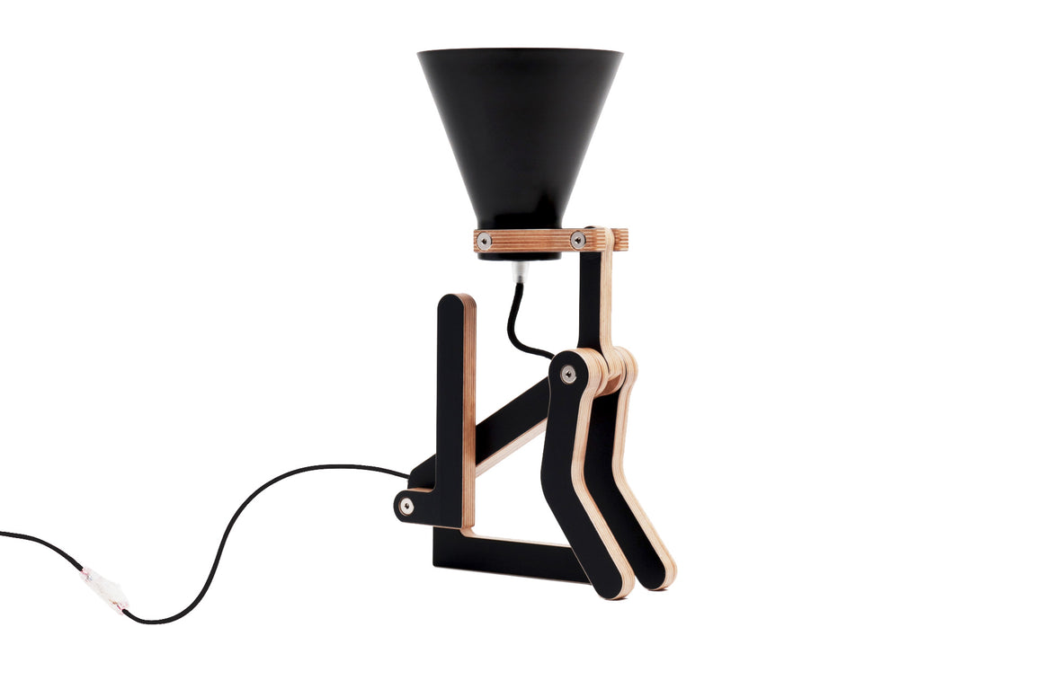 Lampe de table Waaf noir by Structures-PARIDEO design durable