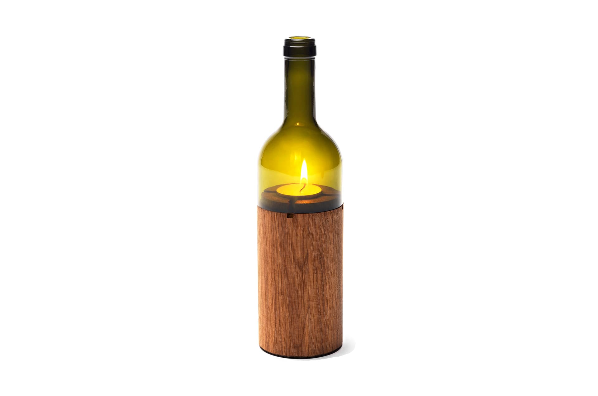 Photophore bouteille vin Weinlicht by SideBySide-1-PARIDEO design durable