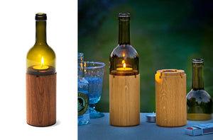 Photophore bouteille vin Weinlicht by SideBySide-2-PARIDEO design durable