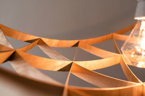 Plafonnier en bois, Rai by Jaanus Orgusaar-detail1-PARIDEO design durable