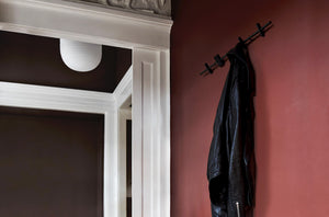 Porte-manteau COAT RACK 40cm by Moebe-métal noir-ambiance-PARIDEO Design durable