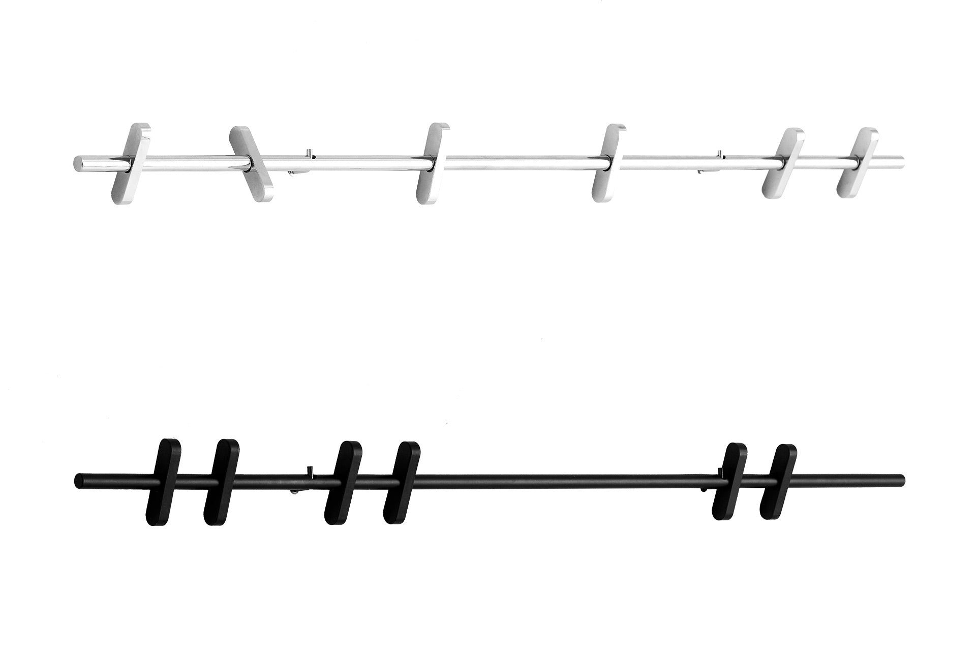 Porte-manteau COAT RACK 70cm by Moebe-métal noir ou chromé-PARIDEO Design durable