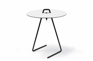 Table basse MDF, Side Table by Moebe-couleur blanc-dispo sur PARIDEO design durable