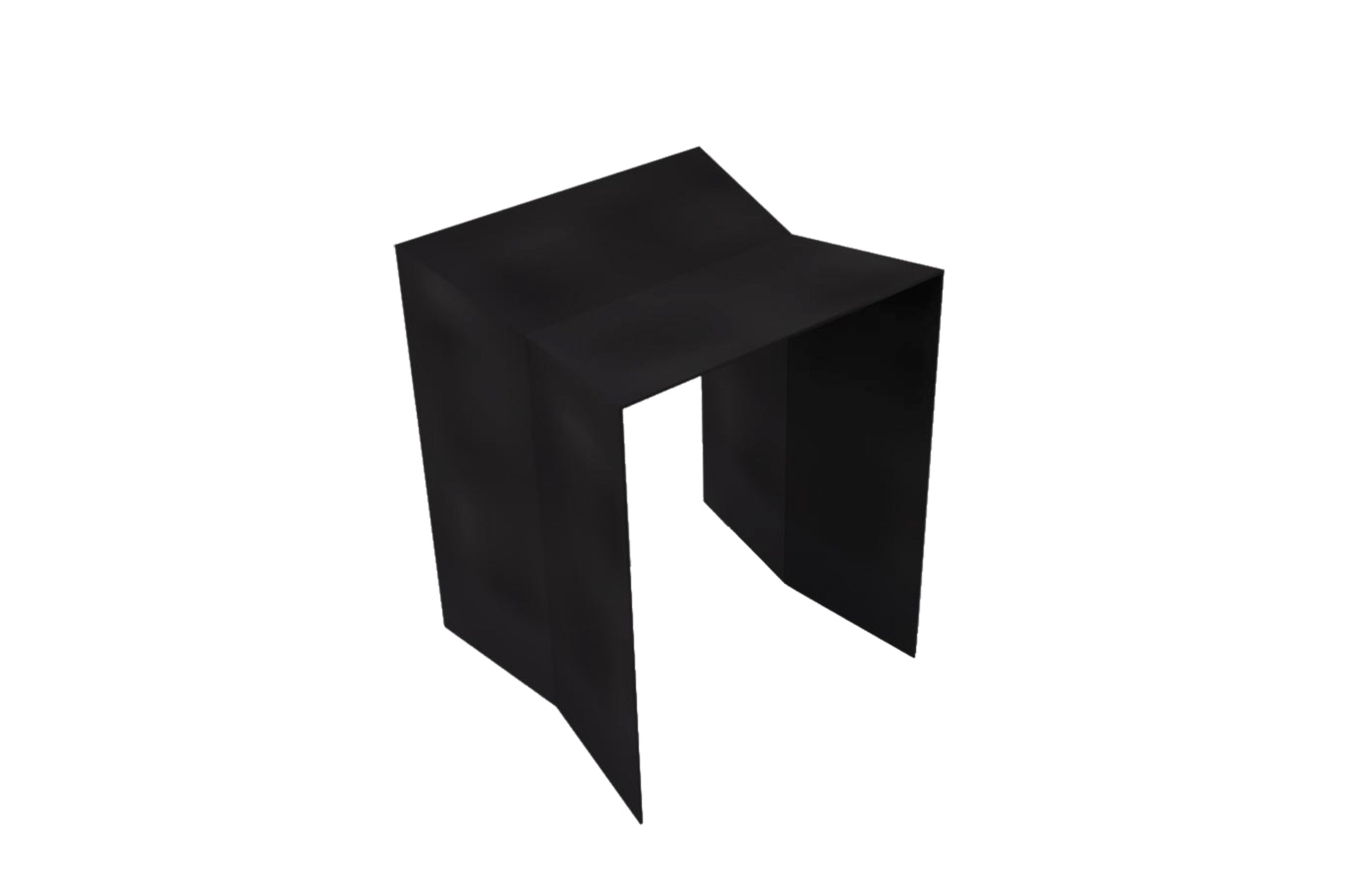 Tabouret acier noir Bulm by Slawinski-PARIDEO design durable