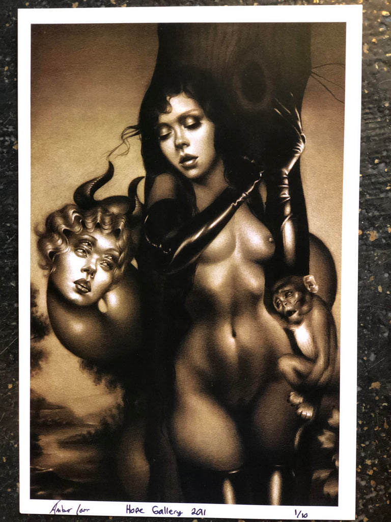 "Limited Edition Print ""In the Garden of Eden"" by Amber Carr"