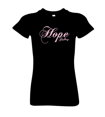 "T-Shirt Ladies Crew Neck ""Hope Gallery"""