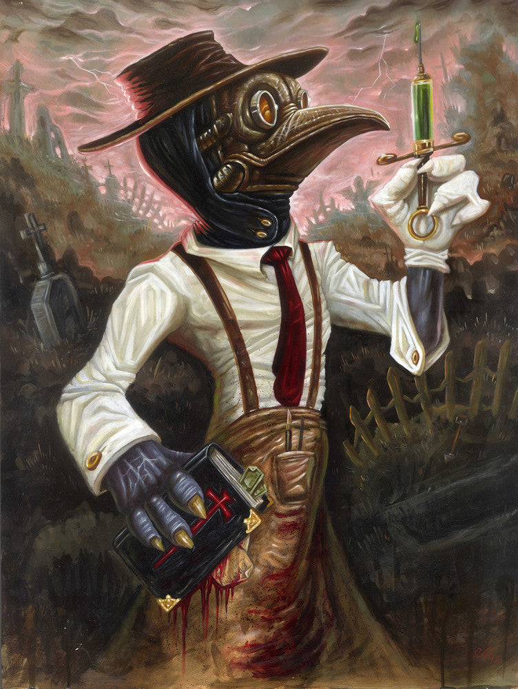 "Poster ""Plague Doctor"" by Christian Perez"