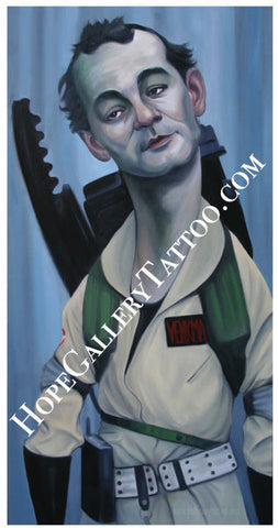 "Poster ""Dr. Venkman"" by Phil Young"