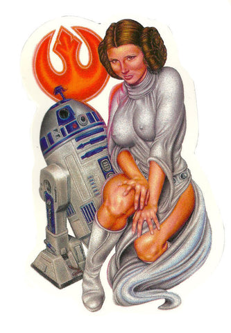 "Sticker ""You're my only Hope"" by Tim Harris"