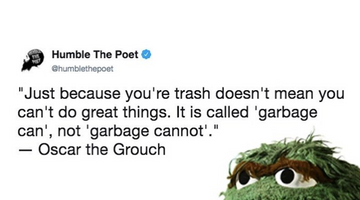 It's Called Garbage Can, Not Garbage Cannot