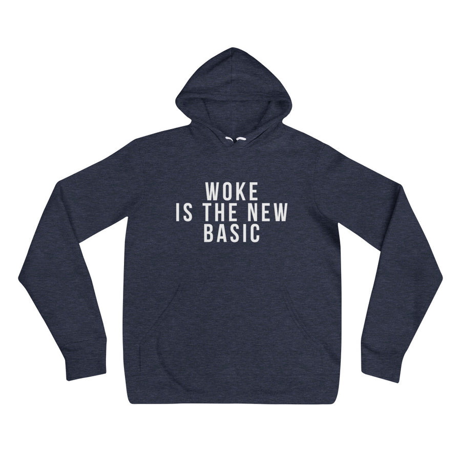 Woke is the new basic - Unisex hoodie