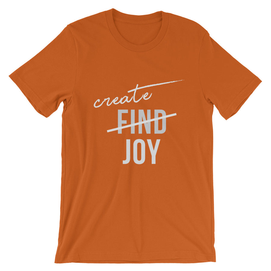 Create Joy - Short-Sleeve Unisex T-Shirt