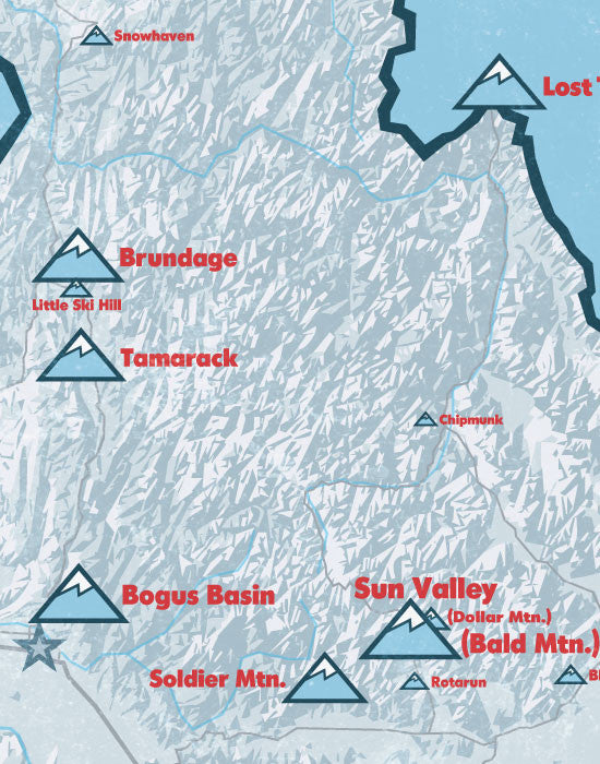Worksheet. Products Tagged Ski Resorts  Best Maps Ever