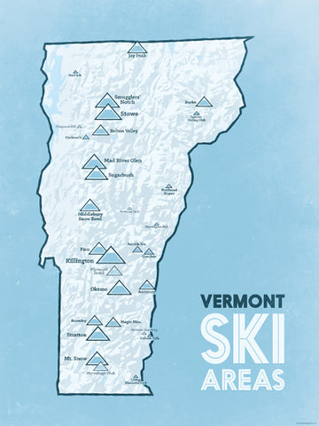 Vermont Ski Areas & Resorts List - Best Maps Ever on maine united states map, discovery ski resort trail map, maine atv trail map, maine county map with towns,