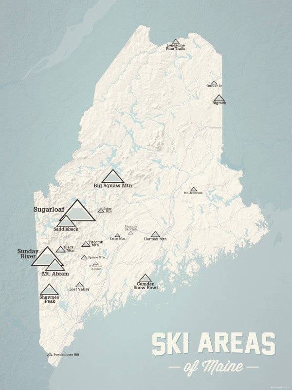 Products Tagged Maine Best Maps Ever - Maine maps