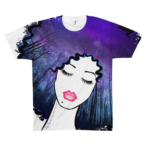 Sky's The Limit (Unisex AOP Sublimation Tee)