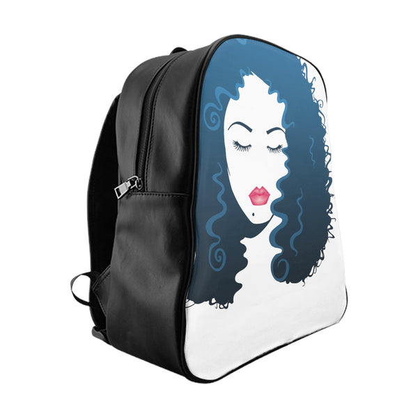 Long Luscious Hair (School Backpack)