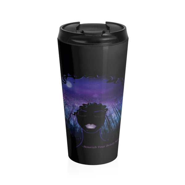 Sky's The Limit All Black (Stainless Steel Travel Mug)