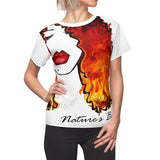 Hot Like Fire (Women's AOP Cut & Sew Tee)