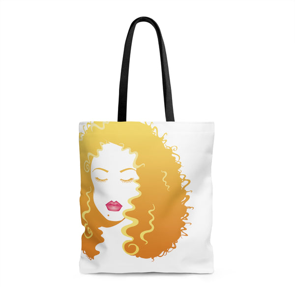 Long Luscious Hair (AOP Tote Bag)