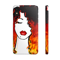 Hot Like Fire (Case Mate Slim Phone Cases)