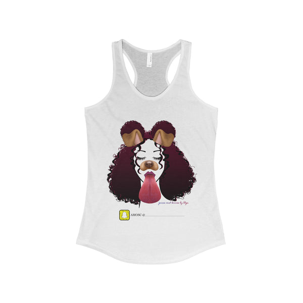 Snapchat Me! (Women's The Ideal Racerback Tank)