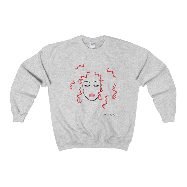 Wild & Free (Heavy Blend™ Adult Crewneck Sweatshirt)