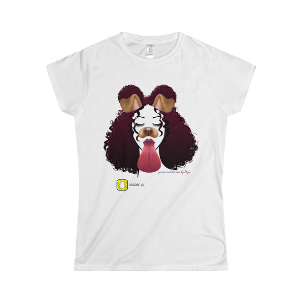Snapchat Me! (Softstyle Women's T-Shirt)