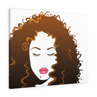 Long Luscious Hair (Canvas Gallery Wraps)