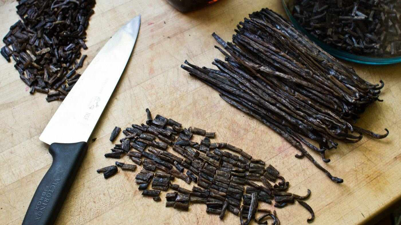 Vanilla Cuts 1 LB - Vanilla Bean Kings