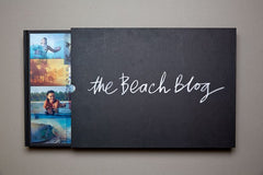 Beach Blog Book + Four Dot Tee