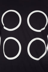 The Monochrome Four Dot Tee