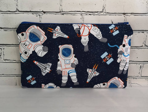 Spaceship and Astronaut Pencil Case. - The Curious Needle