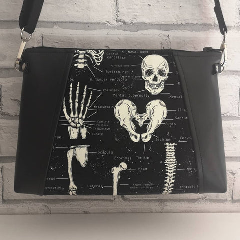 Glow in the Dark Skeleton Crossbody Bag - The Curious Needle
