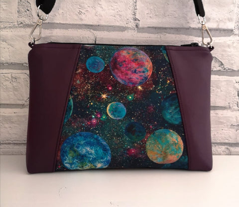 Galaxy Planets Crossbody Bag - The Curious Needle